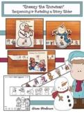 Sneezy the Snowman Winter Snowman Activities Sequencing &