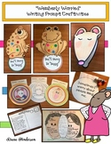 """""""Wemberly Worried"""" Back to School Writing Prompt Crafts"""