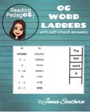 40 Orton-Gillingham based Word Ladders