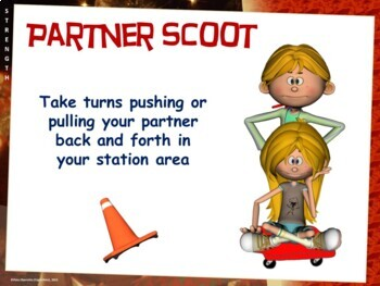 "PE Stations Kids Love - 44 ""Frolicking Fun"" Zones"