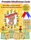 40 Printable Mindfulness / Emotional Intelligence Cards