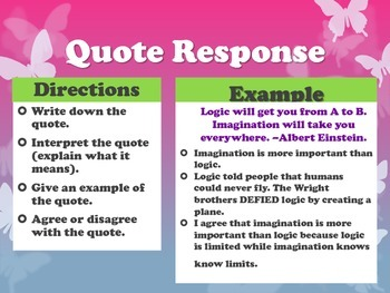 40 Quote Responses of the Week
