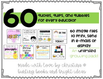 55 Quotes, Quips, and Quibbles for All Educators