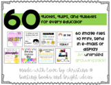 60 Quotes, Quips, and Quibbles for All Educators
