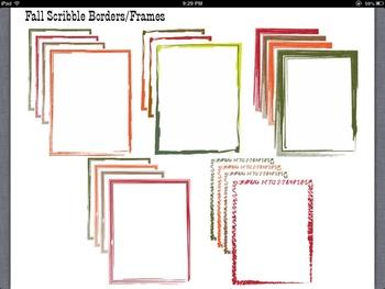 40+ Scribble Border Frames