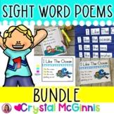 40 Sight Word Poems BUNDLE (Poems, Pocket Charts, Slides,