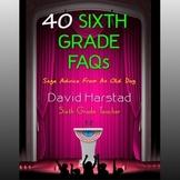 FREE 40 Sixth-Grade FAQs