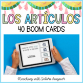 Spanish Article Digital Task Cards - BOOM Cards - Distance