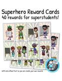 40 Superhero Reward Vouchers