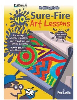 40 Sure-Fire Art Lessons