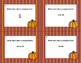 40 Task Cards-Grade 6 Math- Ratios- Simplest Form-CCSS.MATH.CONTENT-Fall Theme