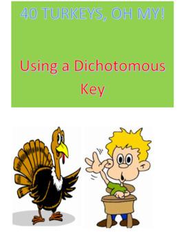 40 Turkeys, Oh My! -- Using a Dichotomous key