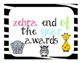 40 Ultimate End of the Year Awards WITH PICS, Jungle Zebra Style
