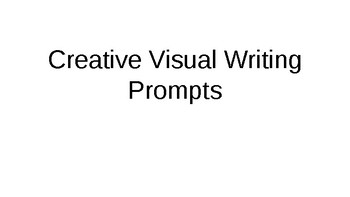 40 Visual Writing Prompts