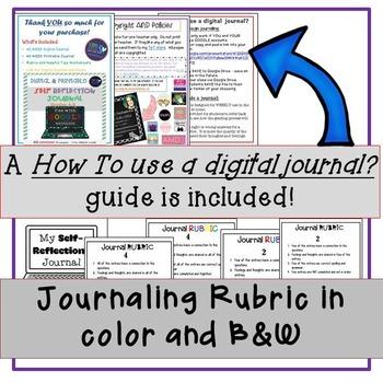 40 WEEKLY Digital AND Printable Journal Prompts!