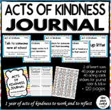 40 Weeks of Acts of Kindness Reflection Journal, Cards, and Stickers