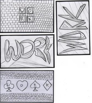 40 Word Cards BUNDLE. 11 differant words on index cards for coloring.