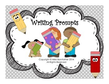 40 Writing and Journal Prompts task cards (Narrative & Creative Writing)