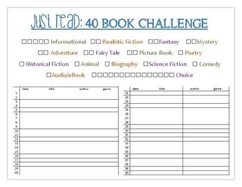 40 book challange