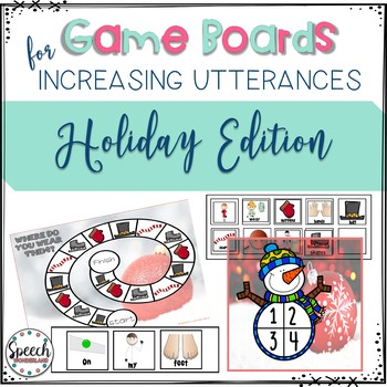 Game Boards for Increasing Utterances: Holiday Edition