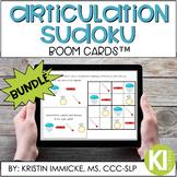 Articulation Sudoku BOOM CARD Bundle