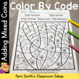 Color By Code Adding Mixed Coins