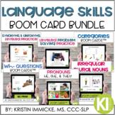 Language Skills BOOM CARD Bundle