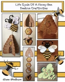 Life Cycle of a Honey Bee Beehive Craftivities