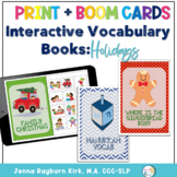 Interactive Vocabulary Books: Holidays (Winter Holidays Set 1)