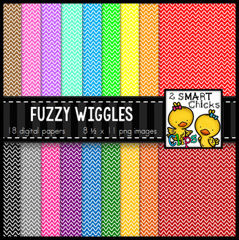 Background Paper - Fuzzy Wiggles Bundle