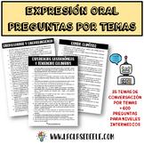 Práctica oral: 450 preguntas sobre 28 temas para conversación en español