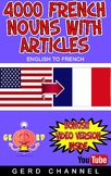 4000 French Nouns with Articles