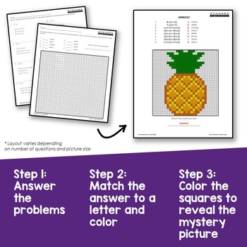 3rd Grade Distributive Property Multiplication Worksheets Mystery Pictures