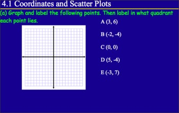 4.1 Coordinates and Scatter Plots