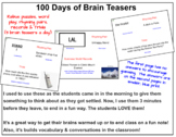 Daily Jokes, Rebus Puzzles, Word Play & Trivia