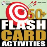 50 Plus Flashcard Activities