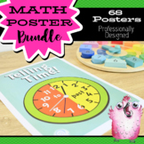 68 Math Posters / Charts / Displays for Classrooms: 23 Numeracy Concepts