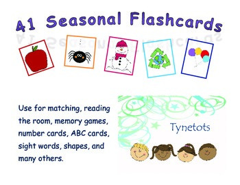 41 Seasonal Flashcards