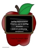 41+ Spelling Differentiation Activities and Templates for Any List!