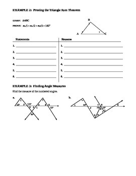 4.1 Triangles and Angles (B)