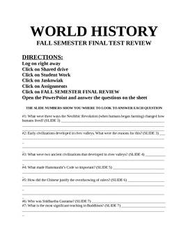 world history 1 study guide answers final rh world history 1 study guide answers final tem