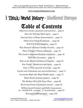 4108-14 The Black Death Primary Source Lesson