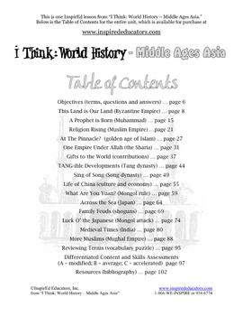 4109-7 The Tang Dynasty of China