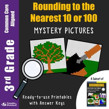 3rd Grade Rounding to the Nearest 10 or 100