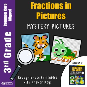 3rd Grade Fraction With Pictures