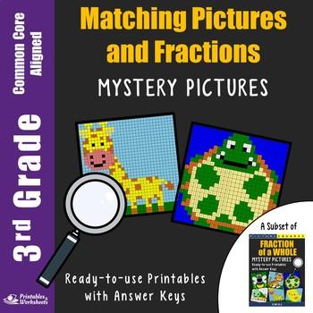 3rd Grade Fraction Match Image