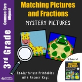 Fractions Assessment 3rd Grade Fraction Art Activity Mystery Pictures