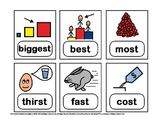 42 Articulation Cards -- word-final /st/ endings -- with pictures