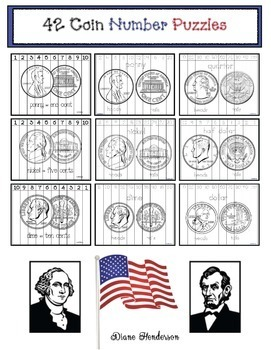 42 Coin Number Puzzles