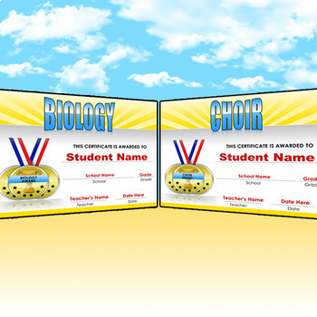 45 Editable Academic Awards - End of the Year Awards